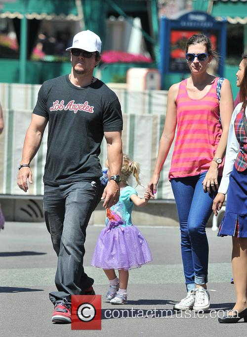 Mark Wahlberg, Rhea Durham and Grace Margaret Wahlberg 6