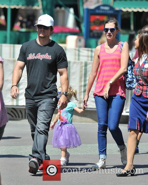 Mark Wahlberg, Rhea Durham and Grace Margaret Wahlberg 7