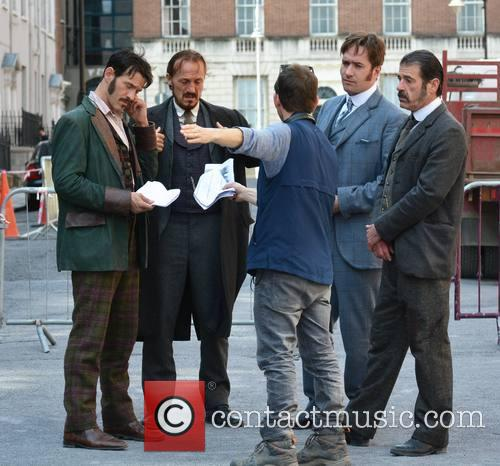 Jerome Flynn, Matthew Mcfadyen and Adam Rothenberg 2