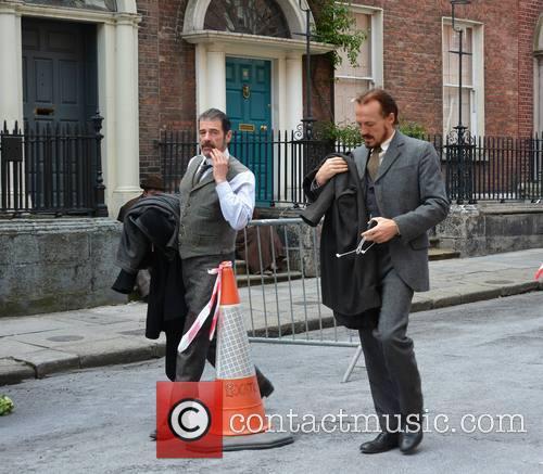 BBC's Ripper Street Films in Dublin