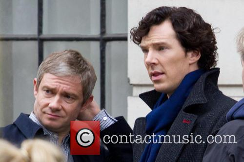 Benedict Cumberbatch and Martin Freeman 4