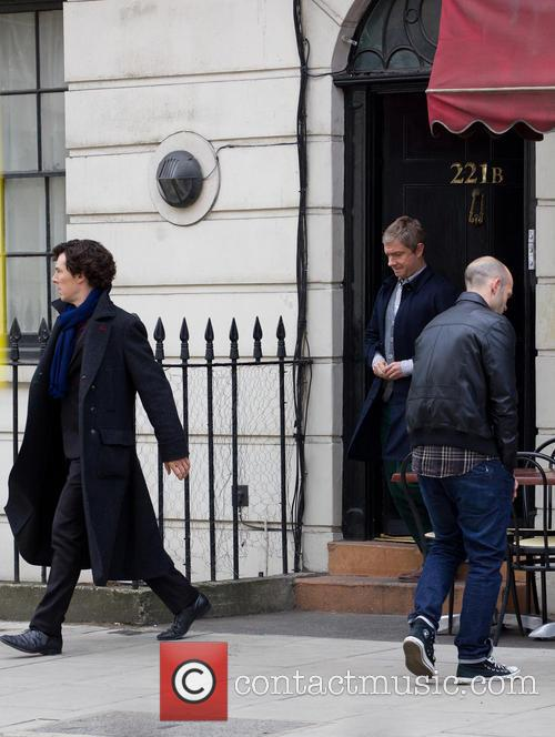 Benedict Cumberbatch and Martin Freeman 5