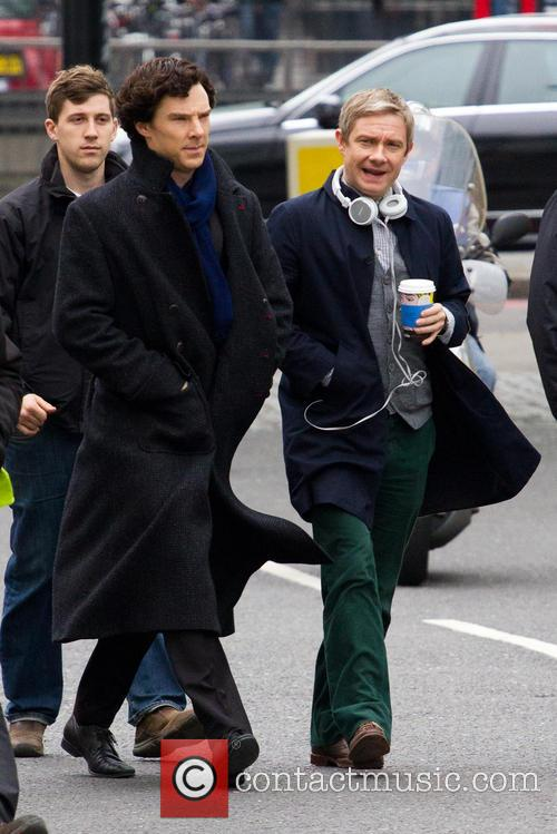 Benedict Cumberbatch and Martin Freeman 9
