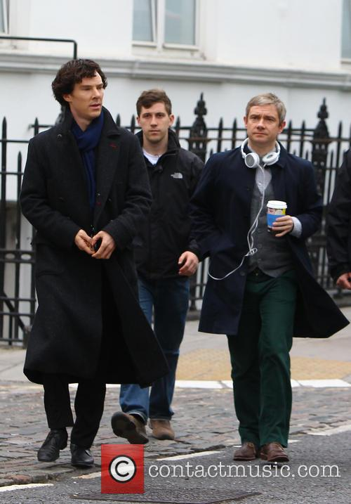 Benedict Cumberbatch and Martin Freeman 6