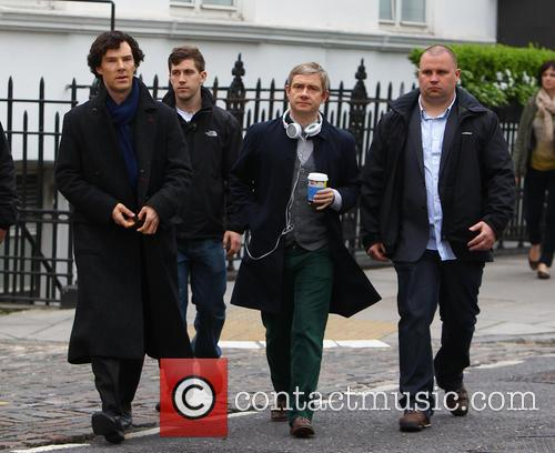 Benedict Cumberbatch and Martin Freeman 8