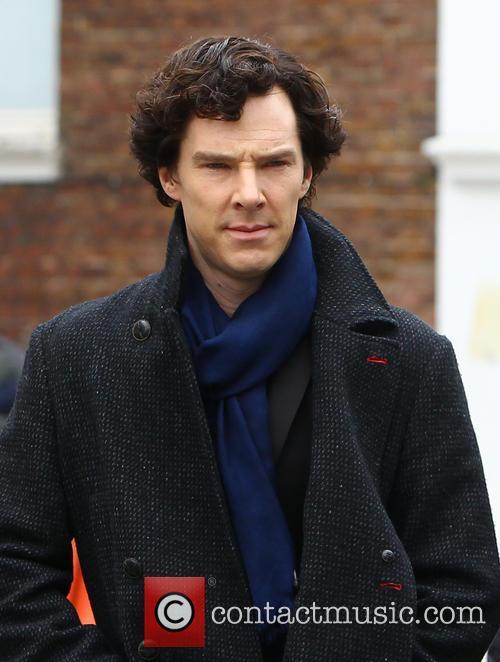 Benedict Cumberbatch, Sherlock Filming