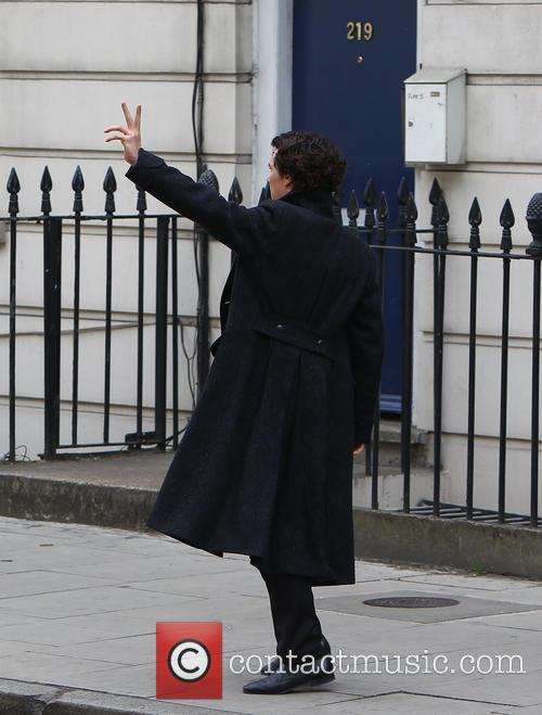 'Sherlock' filming