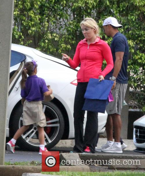 tiger woods lindsey vonn sam woods charlie woods tiger woods 3678671
