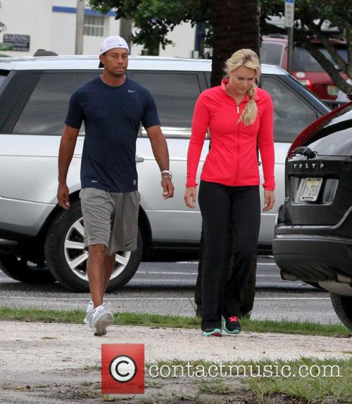 Tiger Woods and Lindsey Vonn 8