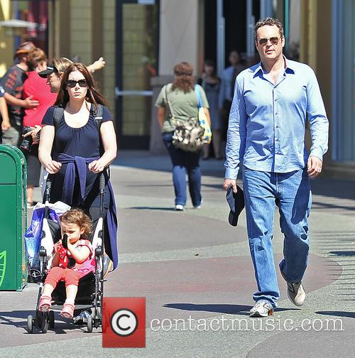 Vince Vaughn, Kyla Weber and Lockly Vaughn 5