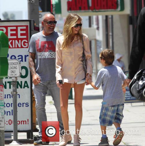 Christian Audigier spends time with his family