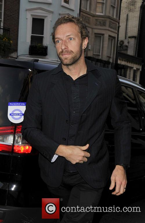 Chris Martin in Mayfair