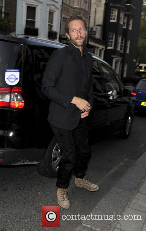 Chris Martin, Marks Club Mayfair