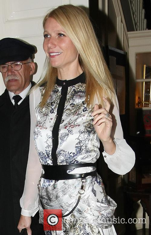 gwyneth paltrow celebrities leaving marks club in 3679508