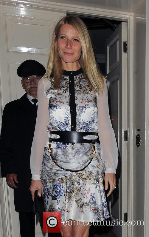 Gwyneth Paltrow, London
