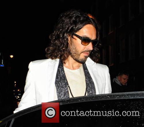 Russell Brand leaves Soho Theatre Bar