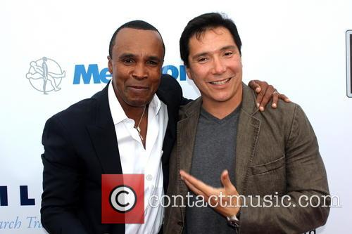 Sugar Ray Leonard and Benito Martinez 6