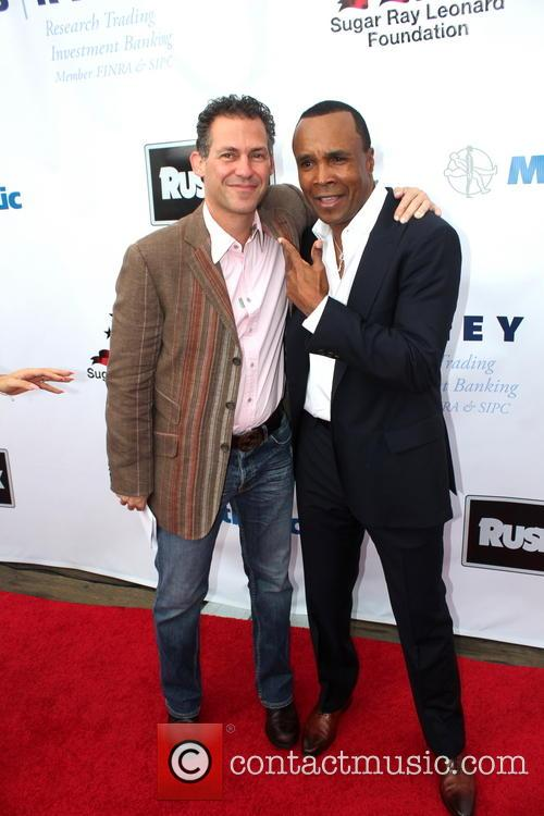 Sugar Ray Leonard and Benito Matinez 2