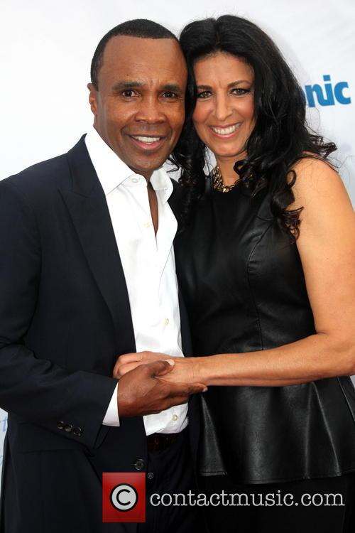 Sugar Ray Leonard and Franchesca Robi 4