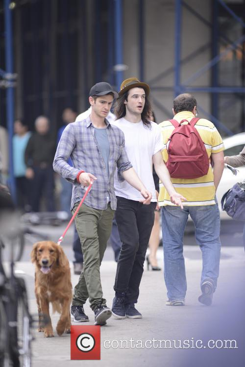 Andrew Garfield and Tom Sturridge 5