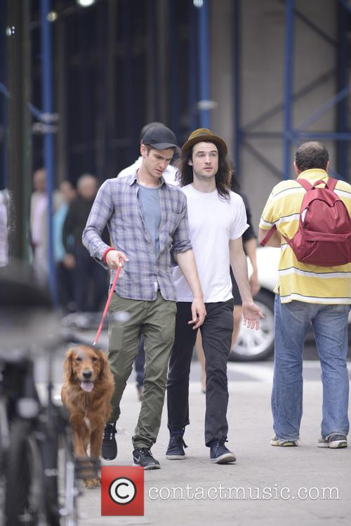 Andrew Garfield and Tom Sturridge 9