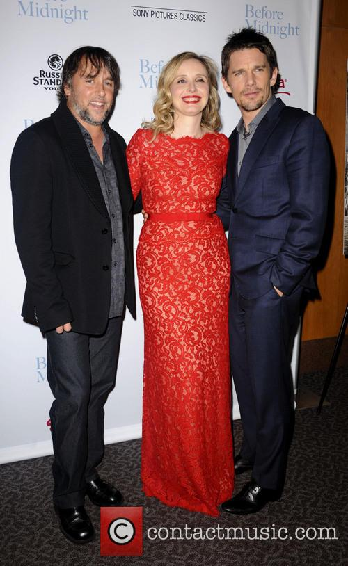 Richard Linklater, Julie Delpy and Ethan Hawke 2