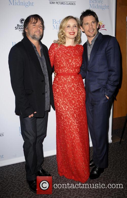 Richard Linklater, Julie Delpy and Ethan Hawke 1