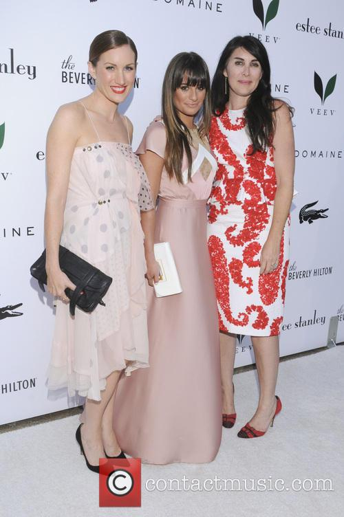 Katherine Power, Lea Michele and Estee Stanley 2
