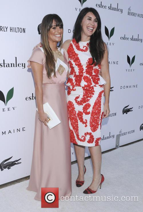 Lea Michele and Estee Stanley 3