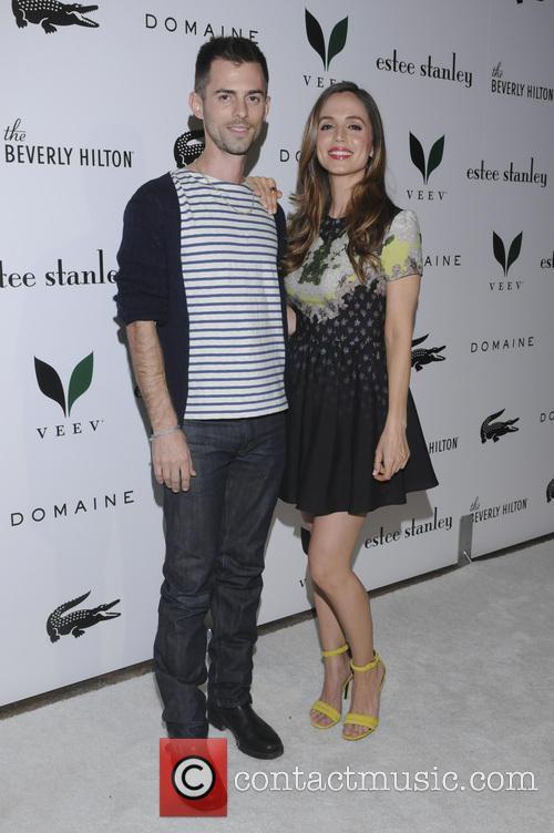 Nate Dushku, Eliza Dushku, Beverly Hilton Hotel