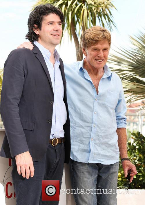 Robert Redford and J.c Chandor 9