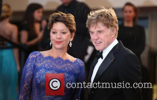 Robert Redford and Sibylle Szaggars 4