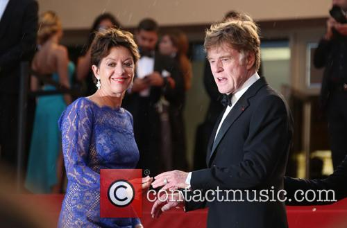 Robert Redford and Sibylle Szaggars 5