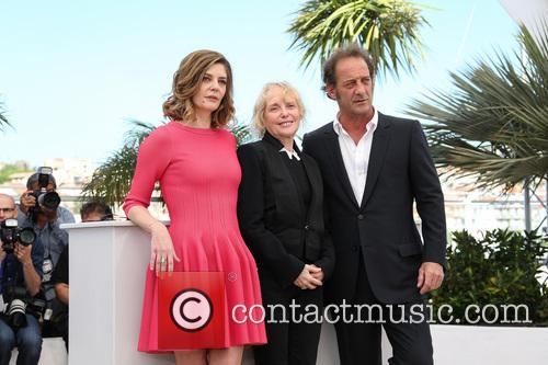 Chiara Mastroianni, Vincent Lindon and Claire Denis 6
