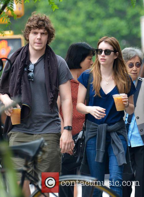 Emma Roberts and Evan Peters 2