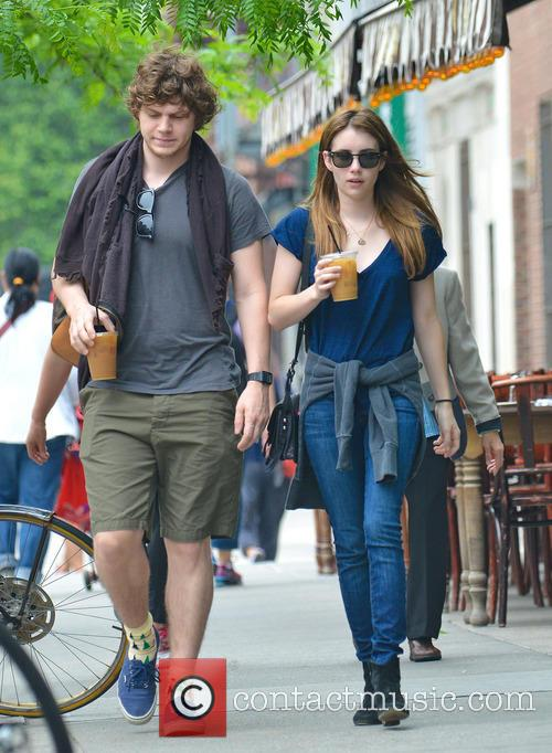 Emma Roberts and Evan Peters 6