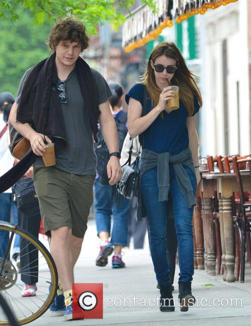 Emma Roberts and Evan Peters in the East...
