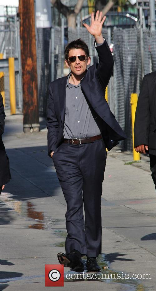 Ethan Hawke outside ABC's 'Jimmy Kimmel Live!'