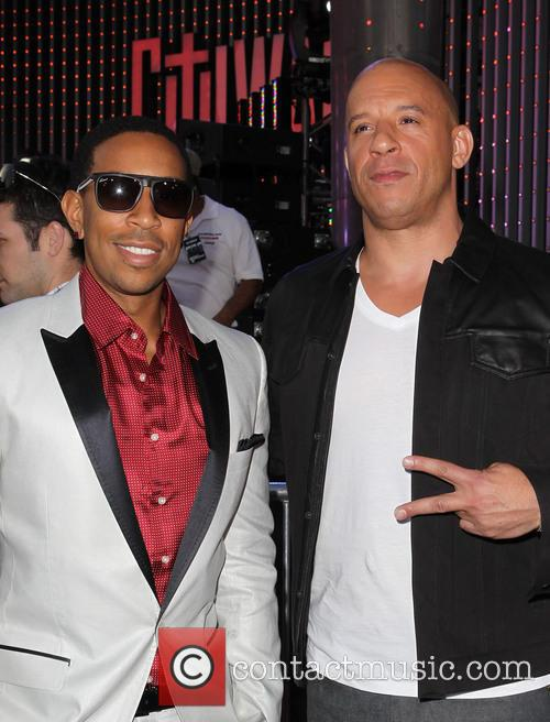 Chris Bridges Ludacris and Vin Diesel 2