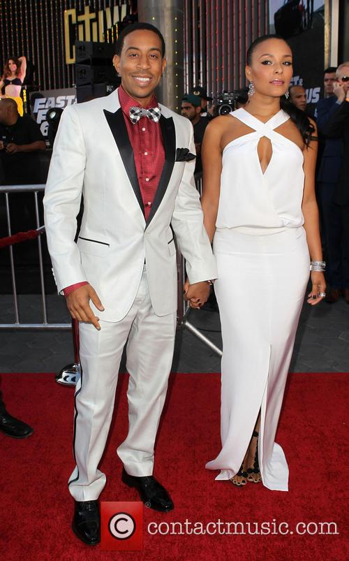 Ludacris and Eudoxie at 'Fast & Furious 6' premiere