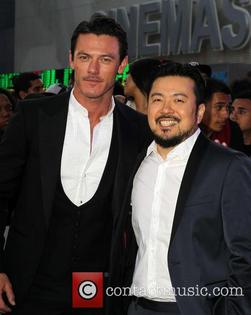 Luke Evans and Justin Lin 2