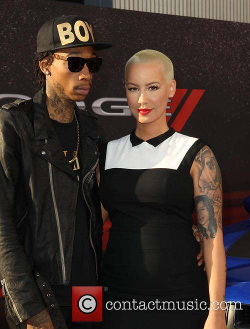 Wiz Khalifa and Amber Rose 3