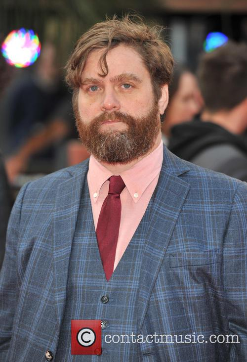 Zack Galifianakis, The Hangover III Premiere