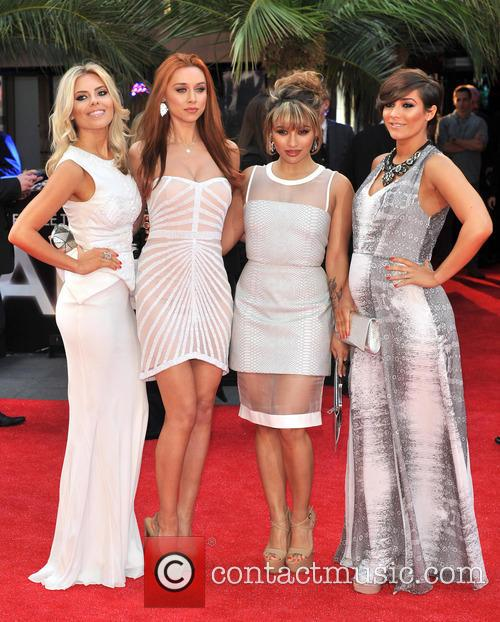 The Saturdays, Mollie King, Una Healy, Vanessa White and Pregnant Frankie Sandford 3