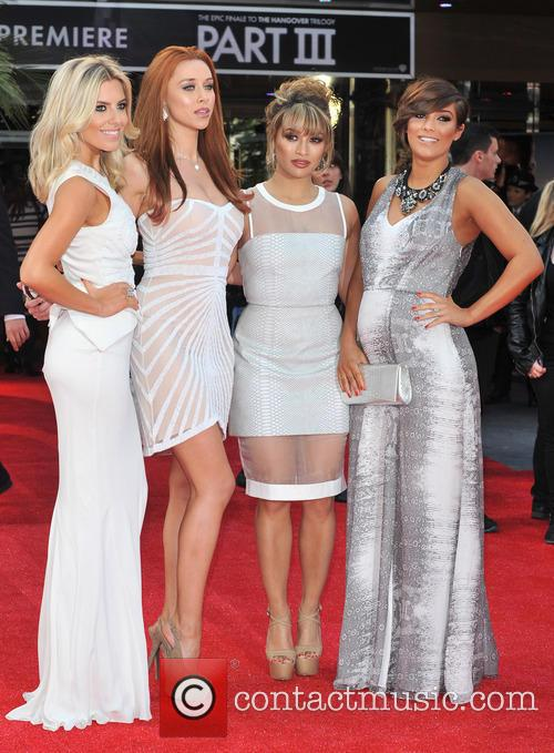 The Saturdays, Mollie King, Una Healy, Vanessa White and Pregnant Frankie Sandford 4