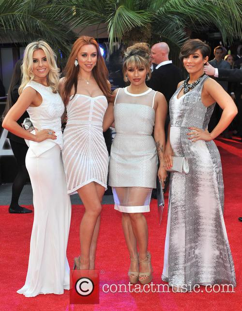The Saturdays, Mollie King, Una Healy, Vanessa White and Pregnant Frankie Sandford 1