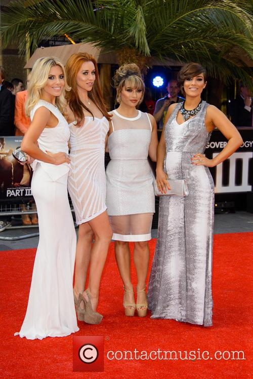 The Saturdays, Mollie King, Una Healy, Vanessa White and Pregnant Frankie Sandford 9