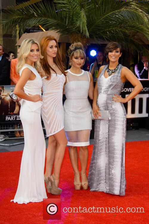 The Saturdays, Mollie King, Una Healy, Vanessa White and Pregnant Frankie Sandford 11