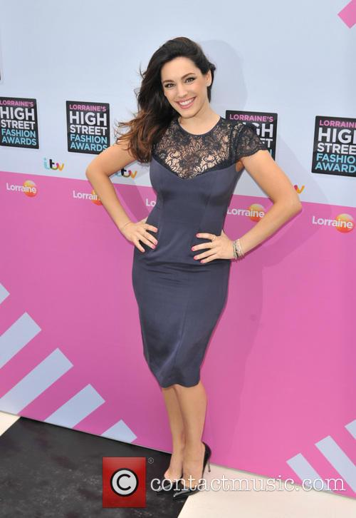kelly brook lorraine high street fashion awards 3680885