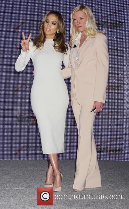 Jennifer Lopez and Marni Walden